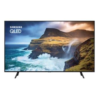 "Smart TV QLED 55"" Samsung QN55Q70RAGXZD Ultra HD 4K 4 HDMI 2 USB Wi-Fi Pontos Quânticos"