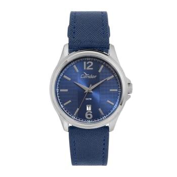 Relógio Analógico Condor Masculino Azul CO2115KTD/2A