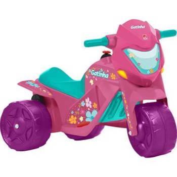 Moto Elétrica Infantil Gatinha Bandeirante 2 Marchas