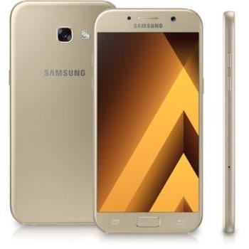 Smartphone Samsung Galaxy A5 2017 SM-A520F/DS Dourado Dual Chip Android 6.0 4G Wi-Fi 64GB