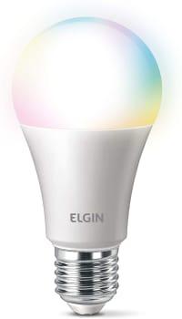 Smart Lâmpada LED Colors 10w Wi-Fi compatível com Alexa - Elgin 48BLEDWIFI00