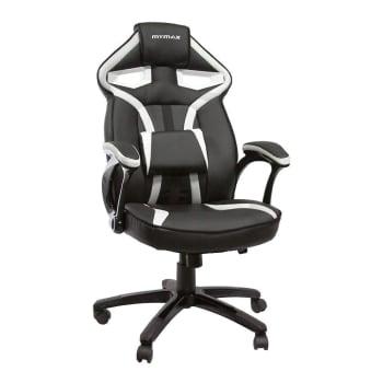 Cadeira Gamer Mymax Mx1 Giratória - Preto/Branco