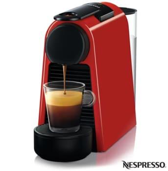 Cafeteira Nespresso Combo Essenza Mini Vermelho para Café Espresso - A3NRD30-BR - NLA3NRD30BVRM
