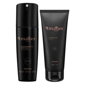 Combo Malbec Black: Shower Gel + Desodorante Body Spray
