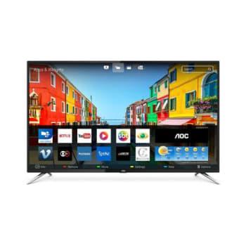 Smart TV LED 50 Polegadas AOC LE50U7970S HD 4K Wi-fi 4 HDMI USB