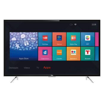 "Smart TV LED 49"" Full-HD TCL L49S4900FS 3 HDMI 2 USB Wi-Fi 60Hz"