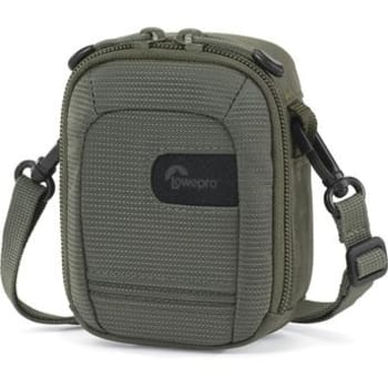 Estojo Lowepro modelo Geneva30 na cor Verde Oliva para Câmera Compacta com Bolso Frontal