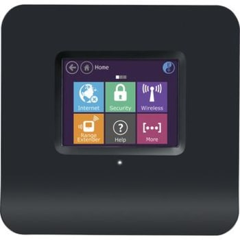 Roteador e Extensor Wireless Tela Touch 300 Mbps Almond Black
