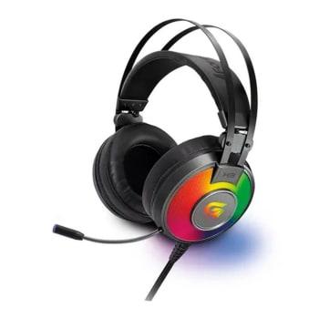 Headset Gamer Fortrek PRO H3 RGB Cinza 2m 65906