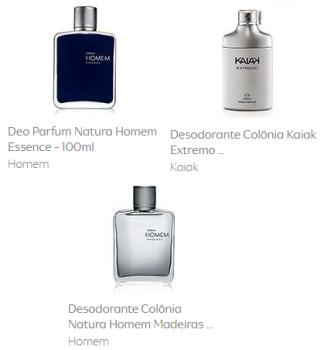 286b2bb6f Deo Parfum Natura Homem Essence - 100ml + Desodorante Colônia Kaiak Extremo  100ml + Desodorante Colônia Natura Homem Madeiras 100ml