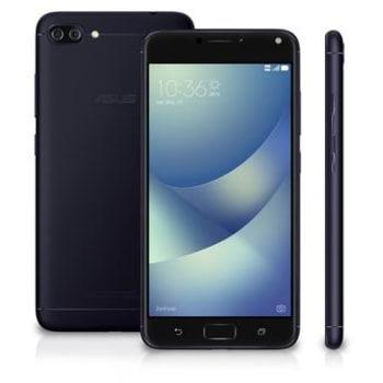 """Asus ZenFone 4 Max Preto 5,5"""" Quadcore 1,4GHz 16GB 2GB Com Câmera Dupla Wide Angle e Bateria Inteligente de 5000 mAh ZC554KL-4A115BR"""