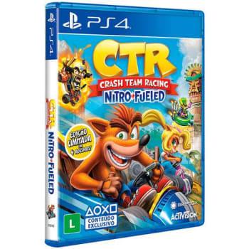 Game Crash Team Racing Nitro-Fueled Edição Padrão - PS4