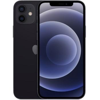 "iPhone 12 Apple (64GB) Preto Tela 6,1"" 5G Câmera 12MP + 12MP iOS"