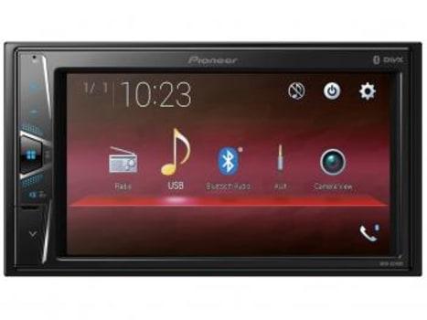 "Central Multimídia Pioneer MVH-G218BT LCD 6,2"" - Touch Bluetooth USB Auxiliar - Magazine Ofertaesperta"