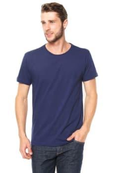 1e4b5d205f Camiseta Polo Wear Bordada Azul em Promoção no Oferta Esperta