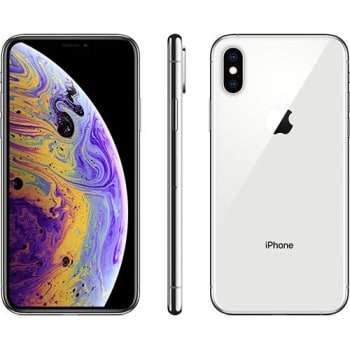 iPhone Xs 64GB Prata IOS12 4G + Wi-fi Câmera 12MP - Apple