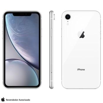 """iPhone XR Branco com Tela de 6,1"""", 4G, 128 GB e Câmera de 12 MP - MRYD2BR/A"""