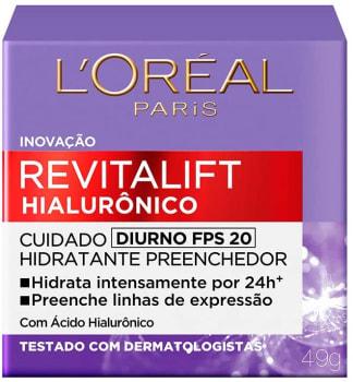 Creme Revitalift Hialurônico Diurno Fps 20 - L'Oréal Paris