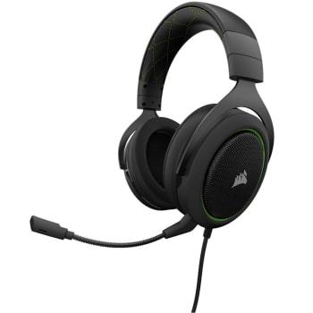Headset Gamer Corsair P2 Stereo 2.0 Preto e Verde HS50 - CA-9011171