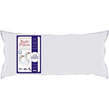 Travesseiro de Corpo Plumas e Penas Daune Único 50x150cm