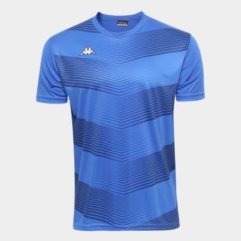 Camisa Kappa Field Masculina - Azul