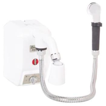 Ducha Eletrônica KDT Branca com Desviador e Temperatura Programável 8.800W/220V