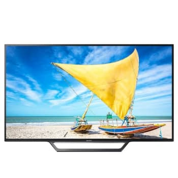 "Smart TV LED 40"" Sony KDL-40W655D Full HD com Conversor Digital 2 HDMI 2 USB Wi-Fi Integrado X-Reality Pro"