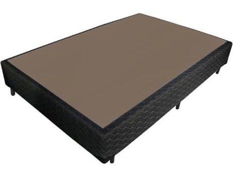 Base Cama Box Casal 138x188x26cm Probel Preta PA00480