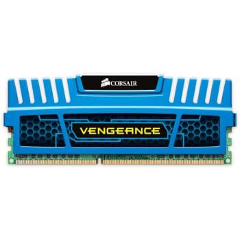 Memória Corsair Vengeance, 4GB, 1600MHz, DDR3, CL9, Azul - CMZ4GX3M1A1600C9B