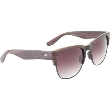 ce26c6cd0 Óculos de Sol Luk Unissex Clubmaster Amadeirado Marrom / Marrom Único