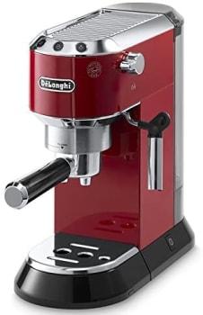 DELONGHI Dedica Pump Espresso Maker Vermelho EC 680 R
