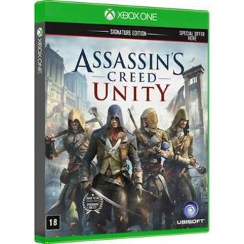 Assassin's Creed Unity Signature Edition Xbox One em Português