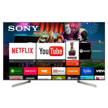 """Smart TV LED UHD 4K 55"""" Sony XBR-55X905 4 HDMI 3 USB 120Hz HDR Android TV"""