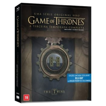 Blu-Ray Game Of Thrones - 3ª Temporada - 5 Discos - Steelbook