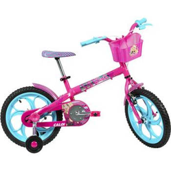 Bicicleta Aro 16 Barbie 16 Caloi