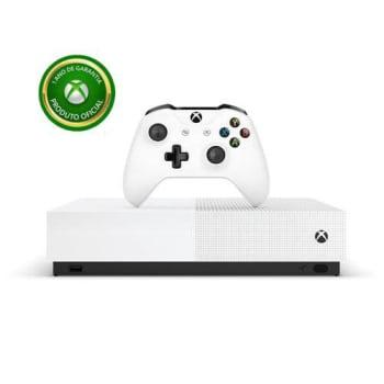 Novo Console Xbox One S All Digital Edition 1tb 4k + Controle Sem Fio - Microsoft