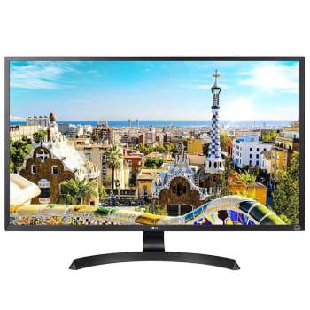 Monitor LG LED 31.5´ Widescreen, 4K, HDMI/Display Port, FreeSync, Som Integrado, Altura Ajustável - 32UD59-B