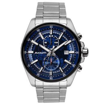 c6f11828a37 Relógio Akium Masculino Aço - 03e56gb04-blue em Promoção no Oferta ...
