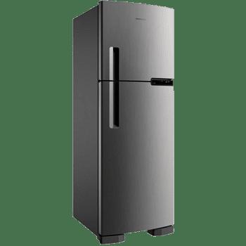 Geladeira/Refrigerador Brastemp Frost Free BRM44 375 Litros - Evox - 110v