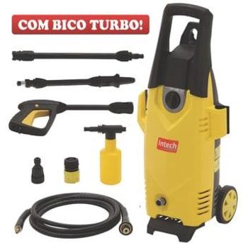 Lavadora Alta Pressão Intech Machine Arizona 1600 Libras 1400W Amarela