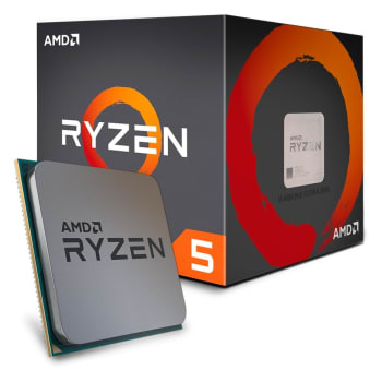 Processador AMD Ryzen 5 1600, Cooler Wraith Spire, Cache 19MB, 3.2GHz (3.6GHz Max Turbo), AM4 - YD1600BBAEBOX