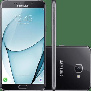 "Smartphone Samsung Galaxy A9 Dual Chip Android 6.0 Tela 6"" Octa-Core 1.8 Ghz 32GB 4G Câmera 16MP - Preto"