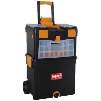 Caixa Organizadora De Ferramentas Com Rodas Org400 Intech Machine