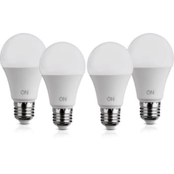 Kit Lâmpadas de LED 7W ON Eletrônicos Bulbo A60 4 unidades