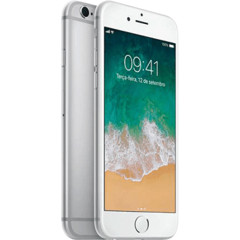 "iPhone 6s 32GB Prata Tela Retina HD 4,7"" 3D Touch Câmera 12MP - Apple"