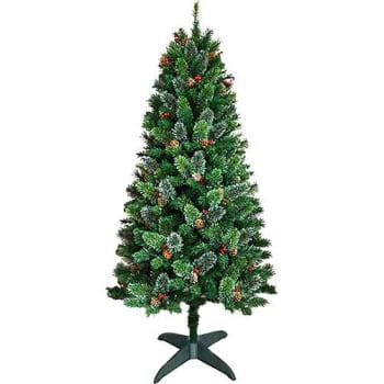 Árvore de Natal Decorada 1,8m 700 Galhos Enfeitada com Pinhas e Frutinhas - Orb Christmas