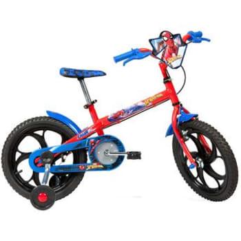 Bicicleta Caloi Spider Man T10R16V01 Vermelha A17