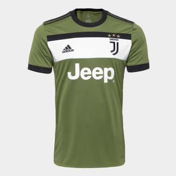 lo mas baratas diseño superior Tienda Camisa Juventus Third 17/18 - S/N Torcedor Adidas Masculina ...