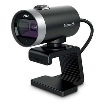 Webcam Cinema USB Preta Microsoft H5d00013 - Marketplace