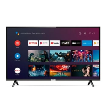 "Smart TV LED 43"" Android TCl 43s6500 Full HD Wi-Fi Bluetooth 1 USB 2 HDMI"